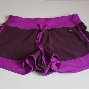 AVIA Burgundy Athletic Shorts